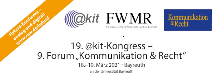 19. @kit-Kongress - 9. Forum