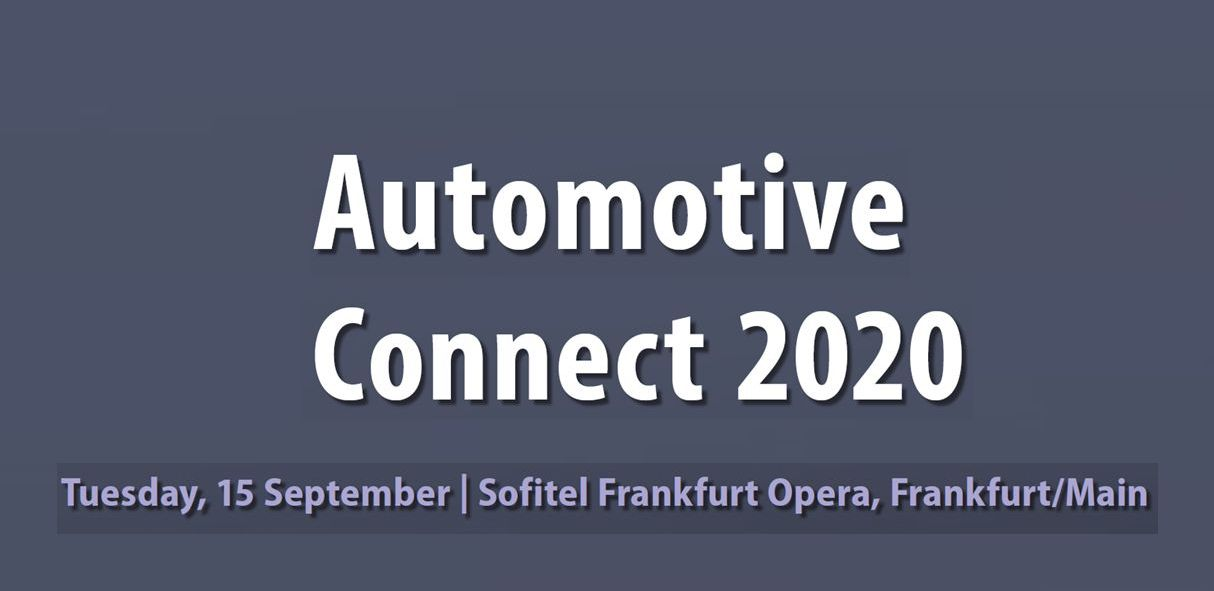 Automotive Connect 2020