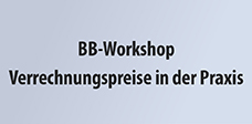 BB-Workshop Verrechnungspreise in der Praxis